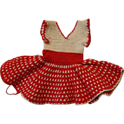 Crocheted  1940's Dress