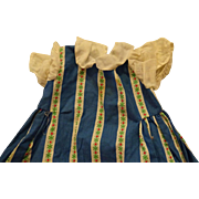 1950's Large Doll Dress