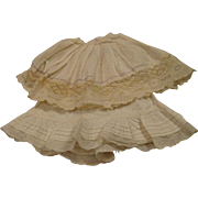 2  Antique Petticoats