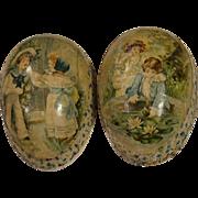 Antique German Easter Egg