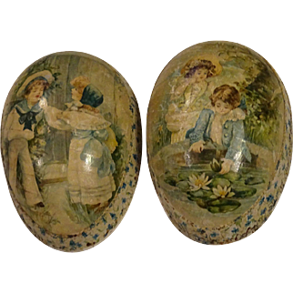 Antique German Easter Egg