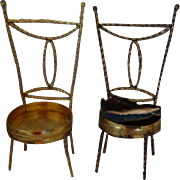 Antique Metal Chairs