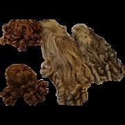 Wig Set of 4