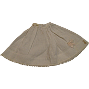 Antique Pantaloons and Vintage Madame Alexander petticoat