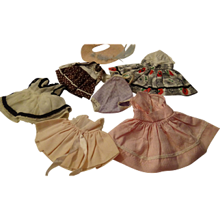 "Group Of Commercially Made 8"" Doll Dresses"