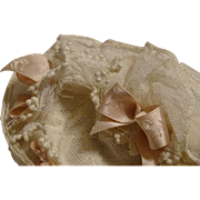 Stunning lace bonnet for Small Doll