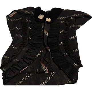 Antique Fashion Cocoon Coat in the Style of Paul Poiret