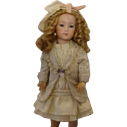 """Antique Silk Pale Seafoam Outfit for 15-16"""" Doll"""