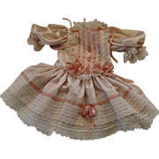 Large Pink Vintage Dress