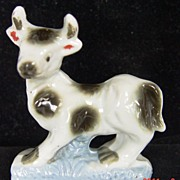 Vintage Japan Calf Figurine