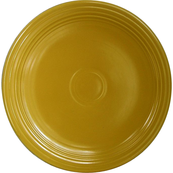 Homer Laughlin Fiestaware Yellow 12 Quot Round Chop Plate From