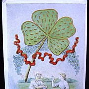 Fred C. Lounsbury St. Patrick's Day Postcard ca 1907