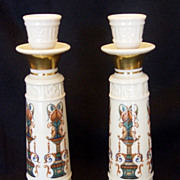 Lenox China Lido Candlesticks