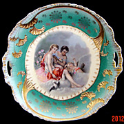 Unmarked OS Prussia Cake Plate