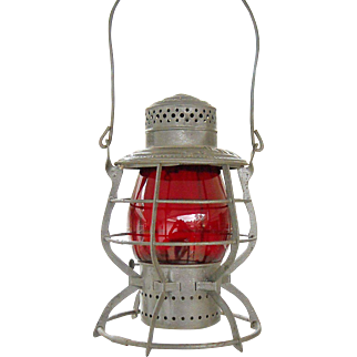 Oregon Railway & Navigation Co. 1897 Railroad Lantern