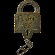 Santa Fe Keen Kutter Lock