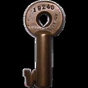 Texas & Pacific Railway(T&P) Switch Key