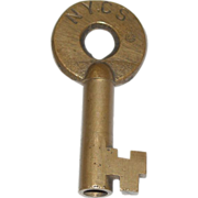 New York Central System(NYCS) Railroad Switch Key