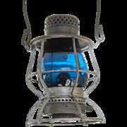 Casey Railroad Lantern with Signal Green Globe