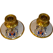 R.S. Germany Hand Painted Candlesticks