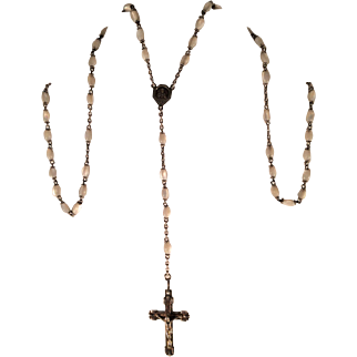 Vintage Mother of Pearl Rosary