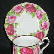 "Royal Albert ""Old English Rose"" Cup & Saucer"