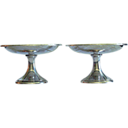 "Pair: Sterling Silver Compotes by International Silver Co.,  ""Prelude"""