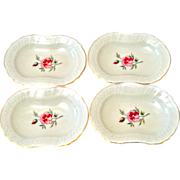 Butter Pats Royal Copenhagen Porcelain four