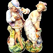 Vion and Baury Porcelain Figurines 1878 Paris Exposition