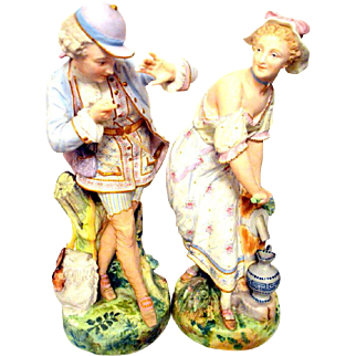 Vion and Baury Porcelain Figurines 1878 Paris Exposition