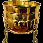 Brass Craftsman England Jardinière Hand Made