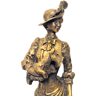 Bronze Statue of Eloise Attributed to Giuseppe Armani