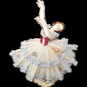 Dresden Ballerina Germany Frankenthal Figurine