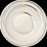 "Frank M. Whiting Company Sterling 1600 5"" Bon Bon/Tray/Bowl Plate"
