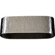 Hyman & Company Hand Wrought Sterling Napkin Ring