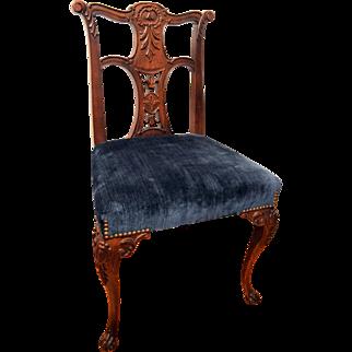 Mahogany Queen Ann Chair