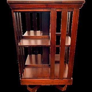 Mahogany Revolving Bookcase John Danner
