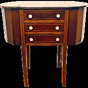Martha Washington Sewing Cabinet Table