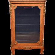 French Vitrine/Display Cabinet Kingwood and Ormolu