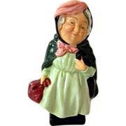 Royal Doulton Porcelain Figurine of Sairey Gamp