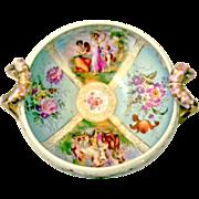 Von Schierholz Austria Angelica Kauffman Style Center Piece 1865 - 1911