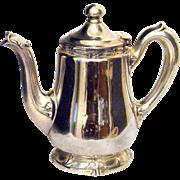 Silver Soldered Tea Pot Bellevue-Stratford Hotel