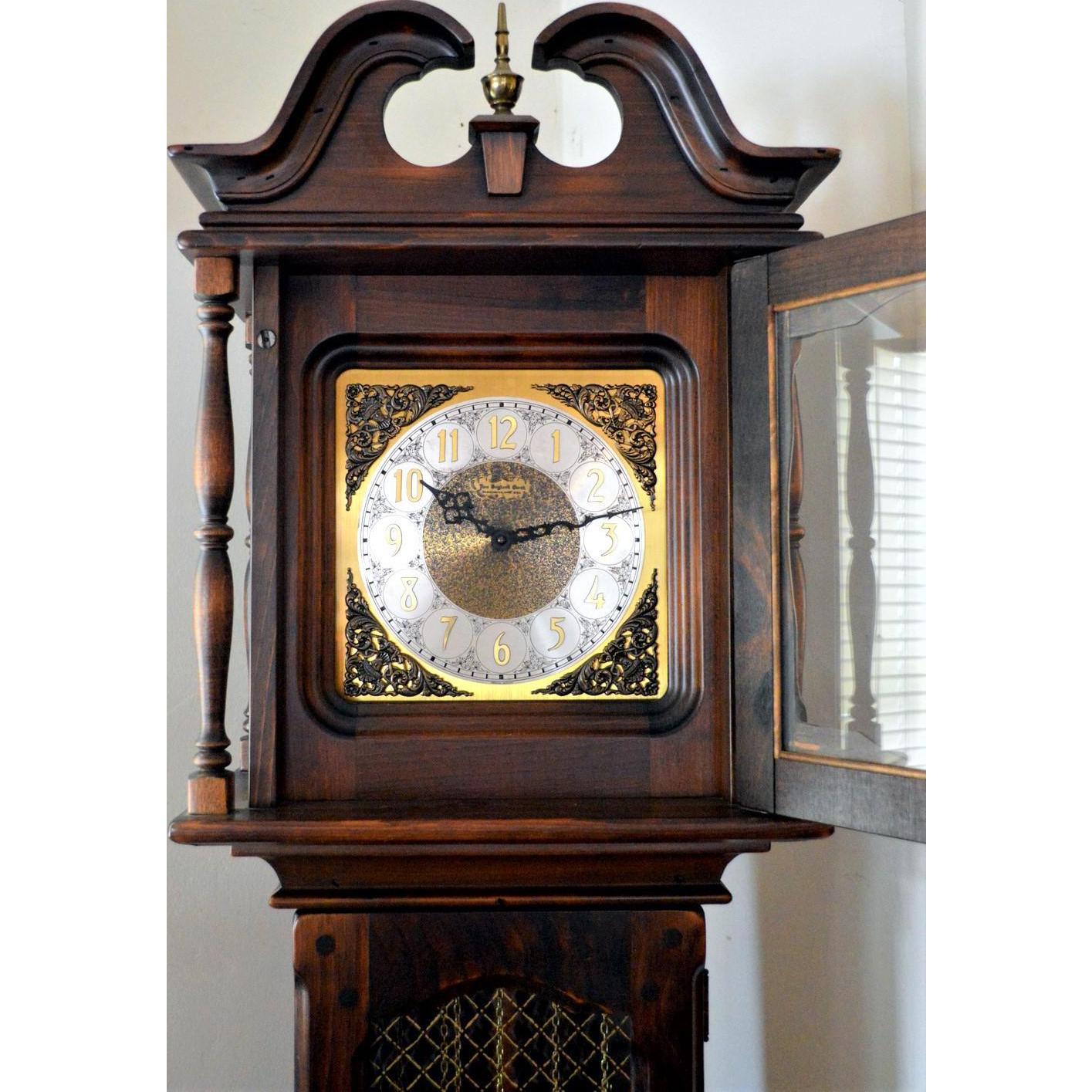 Tall Case Clock the New England Clock Company