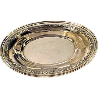 Tiffany & Co Sterling Silver Bread Tray/Basket