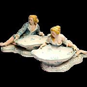 Von Schierholz Figural Sweetmeat Bowls