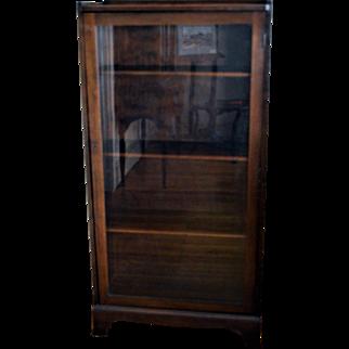 Mahogany Bookcase Single Door
