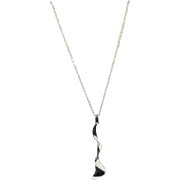 """Tiffany Co. Abstract Pendant//Necklace """"925"""""""