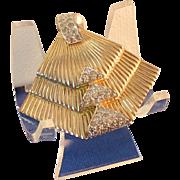 Jomaz Art Deco Brooch Pendant