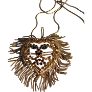 Lion King with Chain tail mane brooch Pendant