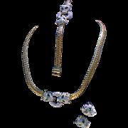 Panther Napier, Nina Ricci Style Parure Swarovski Set